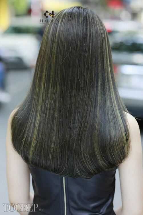 BST 35 màu tóc nhuộm xanh rêu đẹp đang hot nhất hè 20