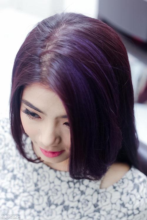 BST 57 màu tóc nhuộm đẹp cho học sinh cấp 2 - 3 yêu thích hè 2021