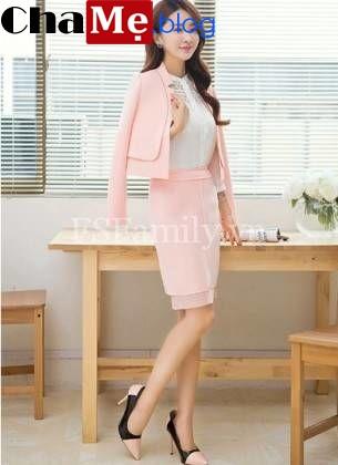 BST áo khoác vest nữ dáng lửng đẹp mới nhất 2021 - 2022 cho các chị em công sở