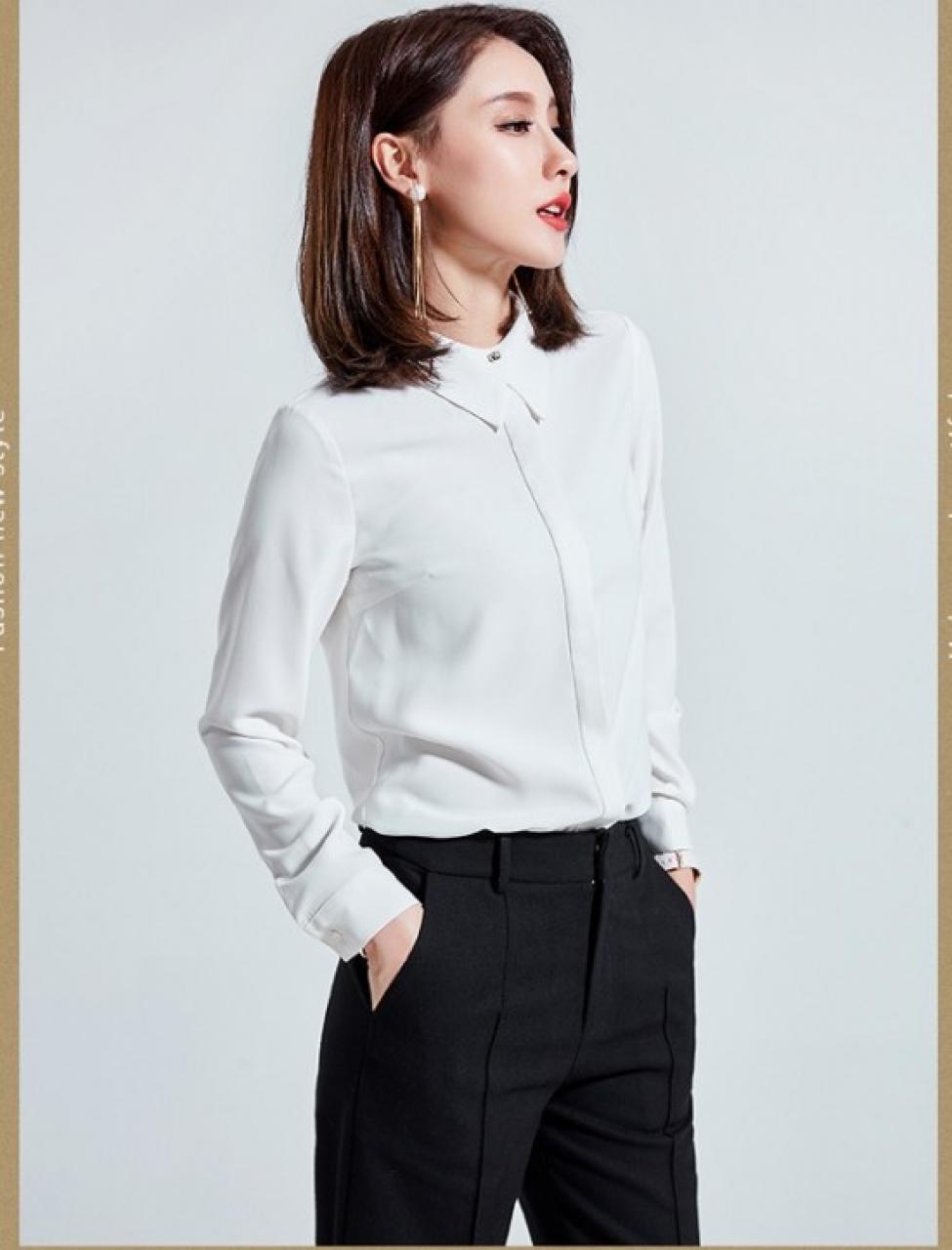 BST áo sơ mi công sở nữ tuổi trung niên và cách diện áo sơ mi công sở nữ tuổi trung niên sang trọng