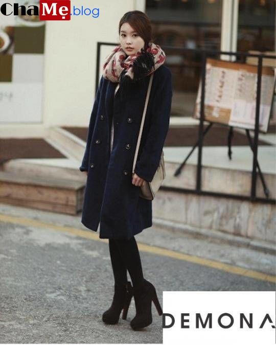Cả tuần ấm áp với áo khoác dạ nữ sài gòn tphcm dáng dài đẹp tới công sở đông 2021 - 2022