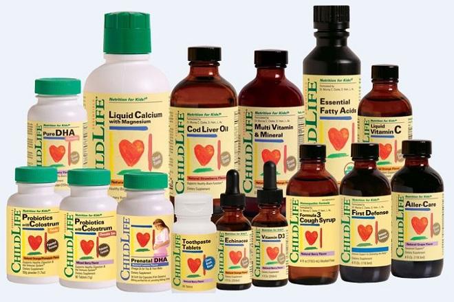 Các loại vitamin tổng hợp