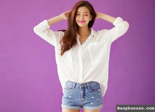 10 Cách Mix đồ với áo sơ mi trắng cực đẹp và sáng tạo phần 1