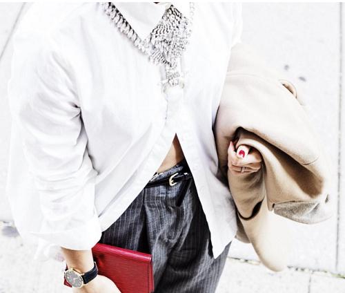10 Cách Mix đồ với áo sơ mi trắng cực đẹp và sáng tạo phần 3