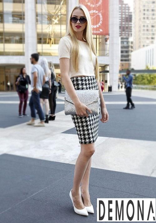 Chân váy bút chì dáng dài đẹp item không bao giờ lỗi mốt hè 2019 phần 5