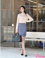 Chân váy đầm công sở đẹp tự tin khoe dáng chuẩn hè 2021 – 2022