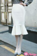 Chân váy đầm ôm xòe đẹp hè 2021 – 2022 duyên dáng tới công sở