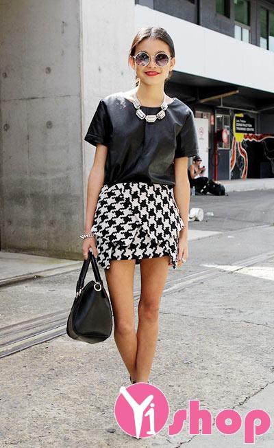 Chân váy đầm quấn đẹp kiểu Hàn Quốc cho nàng cá tính hè 2021 - 2022