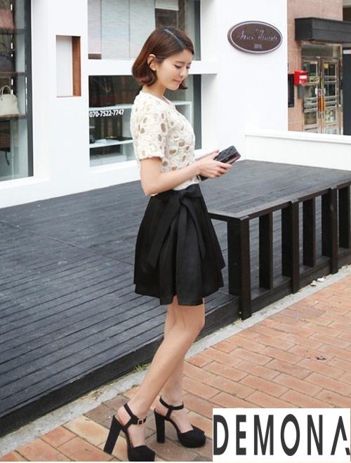 Nhiều kiểu chân váy xếp ly đẹp chuẩn phong cách hàn quốc 2019 nên mua ngay phần 14