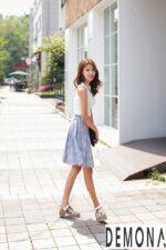 Chọn chân váy xòe đẹp nhất hè 2021 – 2022 che khuyết điểm vòng 3 nhỏ