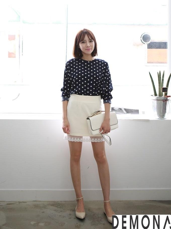 Chân váy đẹp chữ A cho nàng công sở nấm lùn ngày hè 2021 - 2022 phần 10