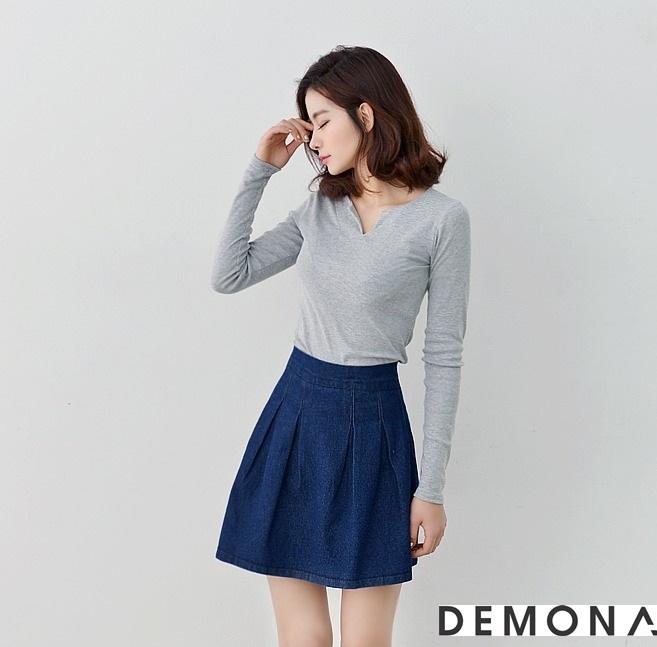 Chân váy đẹp denim hè 2019 cho bạn gái cá tính dạo phố phần 3