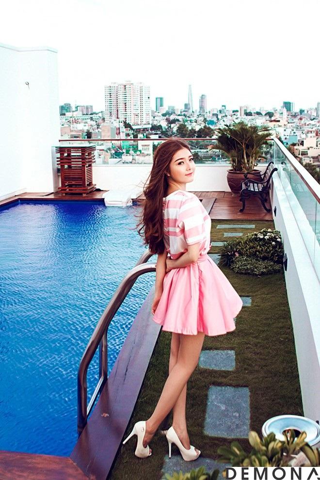 Chân váy đẹp màu pastel cho nàng công sở dịu mát hè 2021 - 2022 phần 2