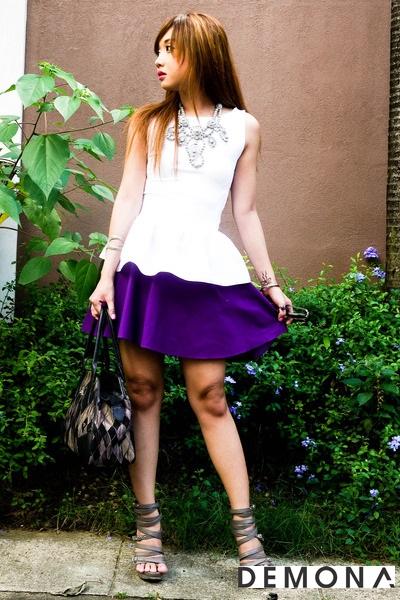 Chân váy đẹp màu tím cho bạn gái dạo phố hè 2021 - 2022 đầy lãng mạn phần 3