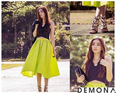Chân váy đẹp midi kiểu hàn quốc hè 2021 - 2022 cho nàng thấp lùn phần 1
