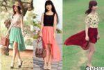 Chân váy đẹp mulet đuôi tôm cho nàng dạo phố hè 2021 – 2022