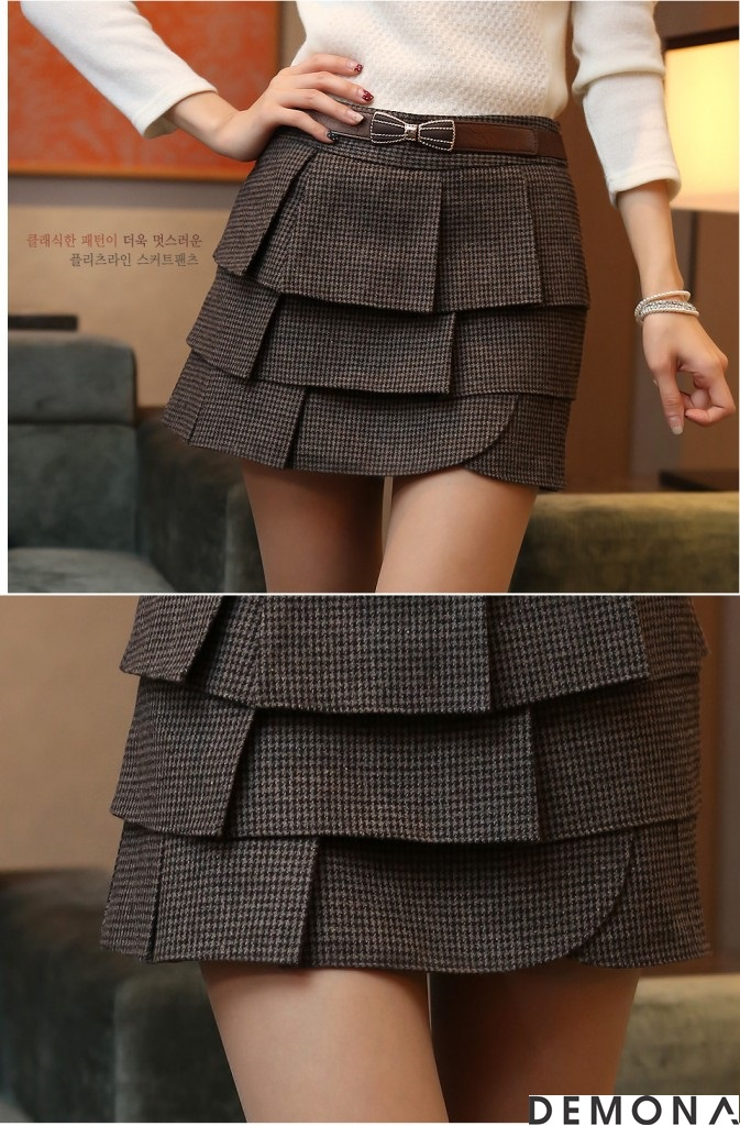 Chân váy đẹp xếp tầng hè 2021 - 2022 cho nàng mát mẻ xuống phố phần 13