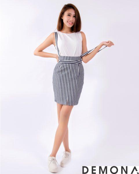 Chân váy đẹp yếm ôm cho nàng dạo phố hè 2021 - 2022 trẻ trung phần 8