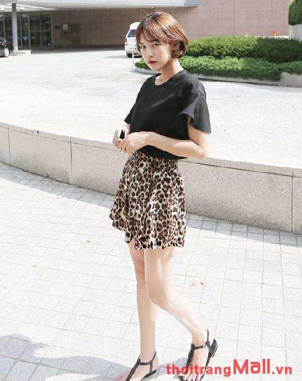 Chân váy ngắn kiểu hàn quốc đẹp rạng rỡ dưới nắng hè 2019 phần 12