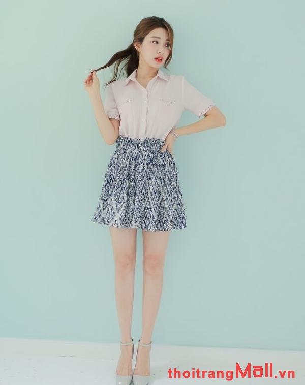 Chân váy ngắn kiểu hàn quốc đẹp rạng rỡ dưới nắng hè 2019 phần 2