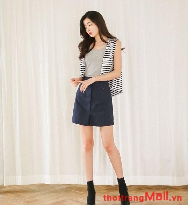 Chân váy ngắn kiểu hàn quốc đẹp rạng rỡ dưới nắng hè 2019 phần 6