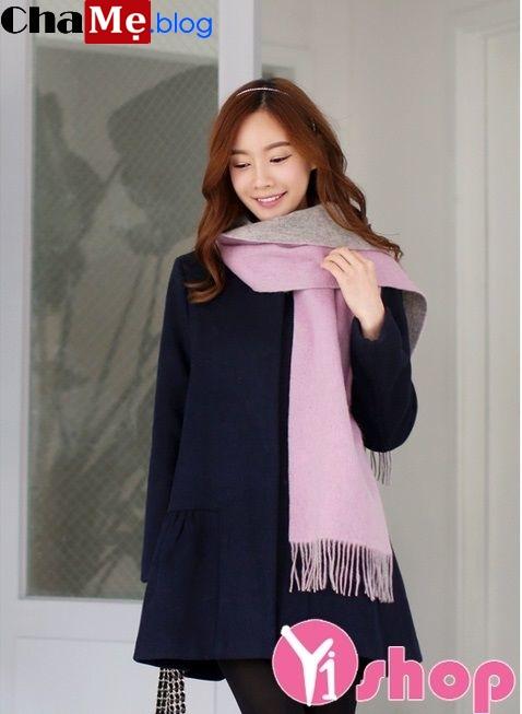 Áo khoác dạ nữ Hàn Quốc đẹp trang nhã tới công sở đông 2021 - 2022