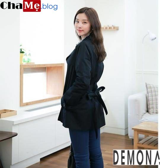 Chiêm ngưỡng áo khoác dạ nữ sài gòn tphcm thắt đai eo đẹp không lạnh thu đông 2021 - 2022