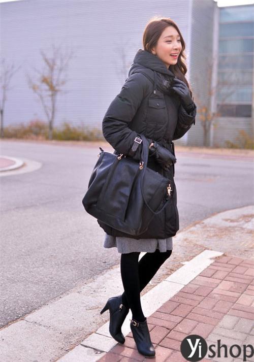 Chọn áo khoác phao nữ hàn quốc đẹp hợp mốt mùa đông 2021 - 2022 phần 6