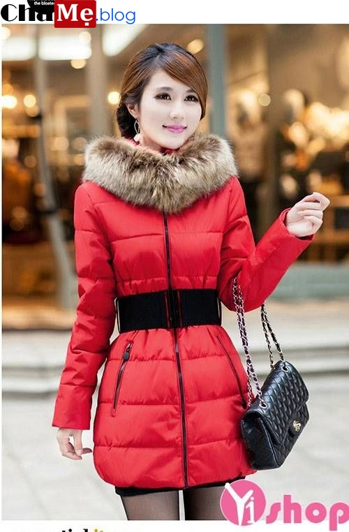 Cập nhật mới nhất áo khoác phao nữ sài gòn tphcm cổ lông đẹp tuyệt vời ngày đông 2021 - 2022