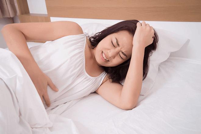chữa sót nhau thai bằng rau ngót khi đau bụng