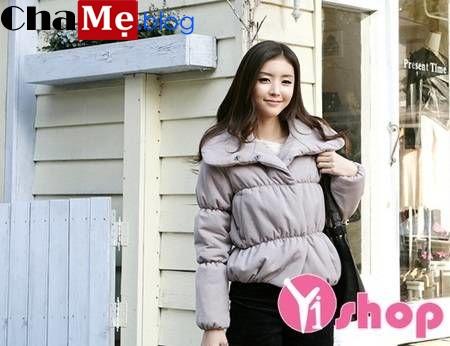 Chuẩn bị áo khoác phao nữ sài gòn tphcm dáng lửng đẹp mix đồ xinh yêu thu đông 2021 - 2022
