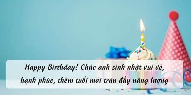 Lời chúc mừng sinh nhật em trai, anh trai hay hài hước và ý nghĩa nhất