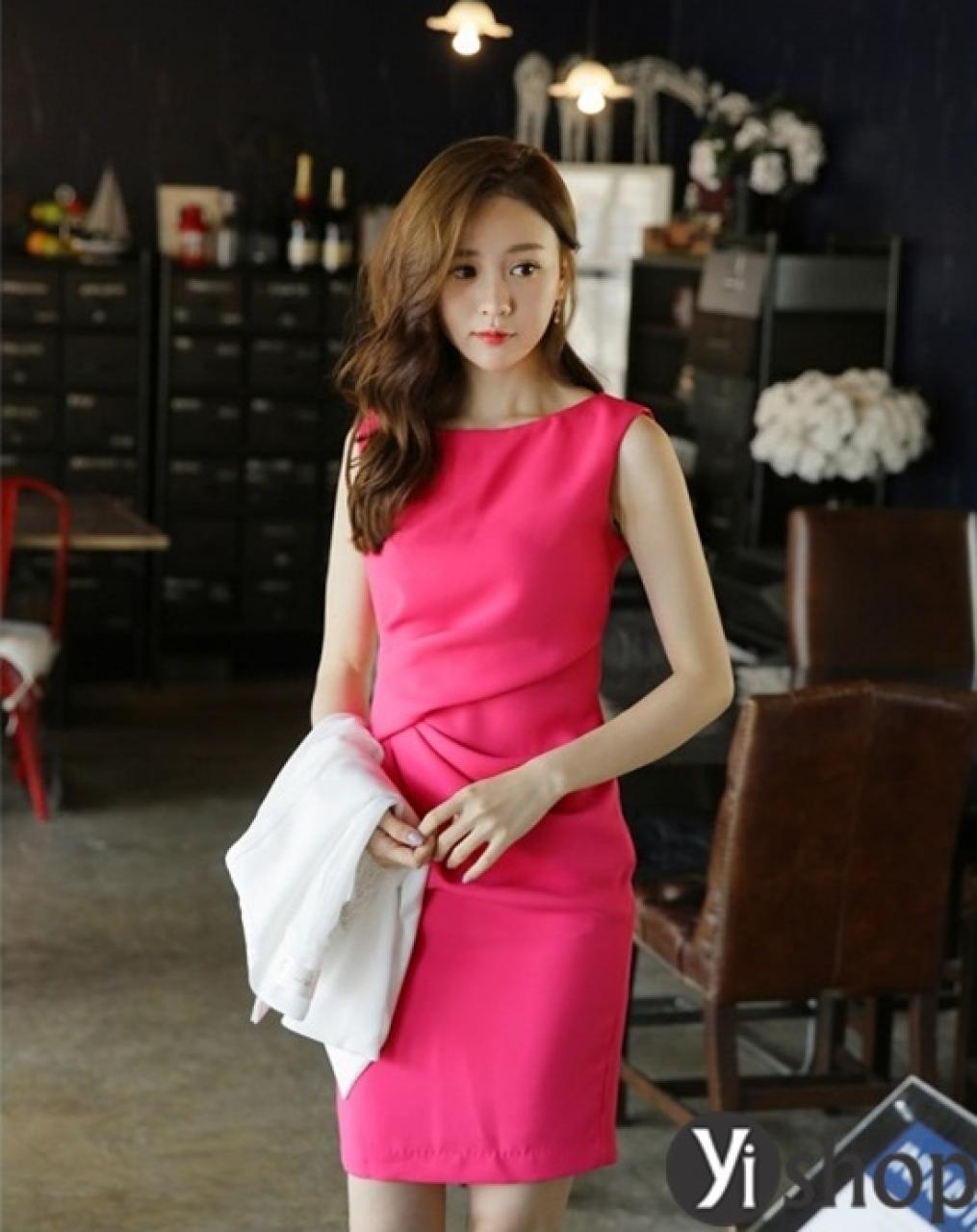 Đầm liền Hàn Quốc đẹp hè đa-zi-năng