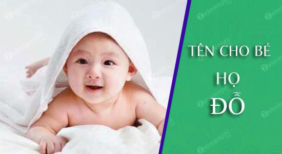 Đặt tên cho con trai gái họ Đỗ sinh năm 2021 tuổi Tân Sửu vừa hay & vừa đẹp lại ý nghĩa