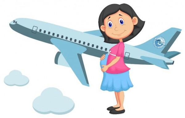 Đi máy bay mẹ bầu không thể không biết những điều này