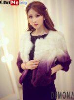 Điểm qua mẫu áo khoác lông nữ dáng ngắn đẹp đông 2021 – 2022 sang trọng ấm áp