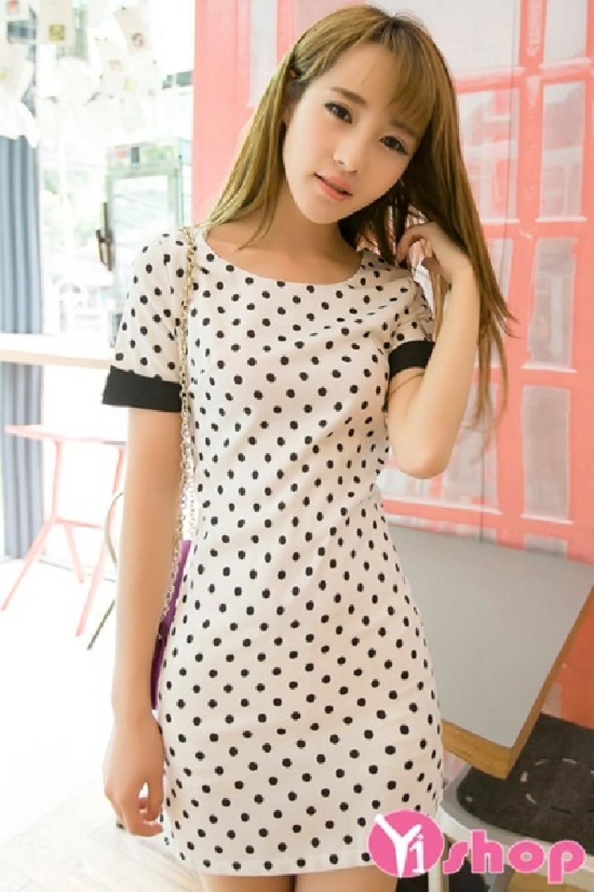 Diện đồ mùa hè cực thoải mái trong bộ váy đầm suông đẹp tuyệt vời