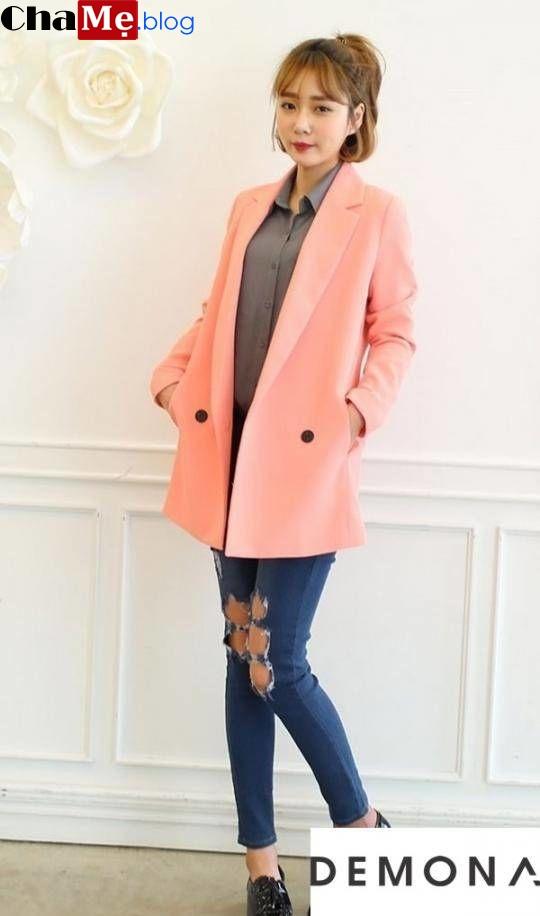 Đón đầu xu hướng với áo khoác dạ nữ sài gòn tphcm dáng xòe đẹp thu đông 2021 - 2022