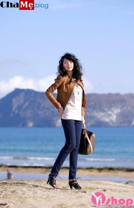 Giới thiệu áo khoác lửng nữ đẹp thu đông 2021 - 2022 cho người thấp lùn ấm áp