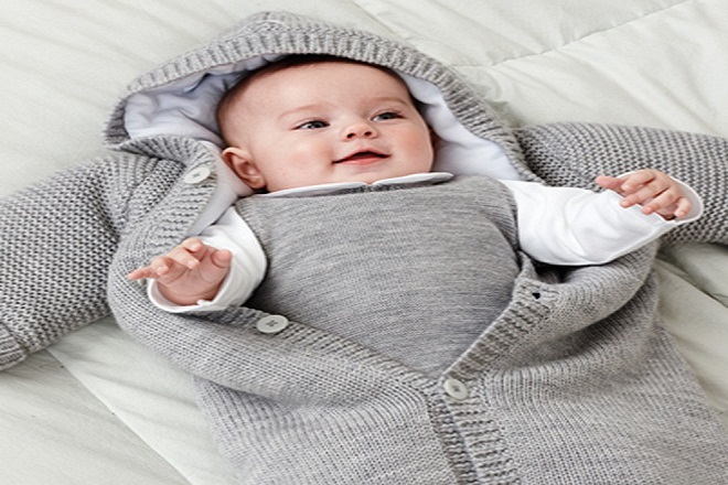 Túi ngủ giúp giữ ấm cho trẻ
