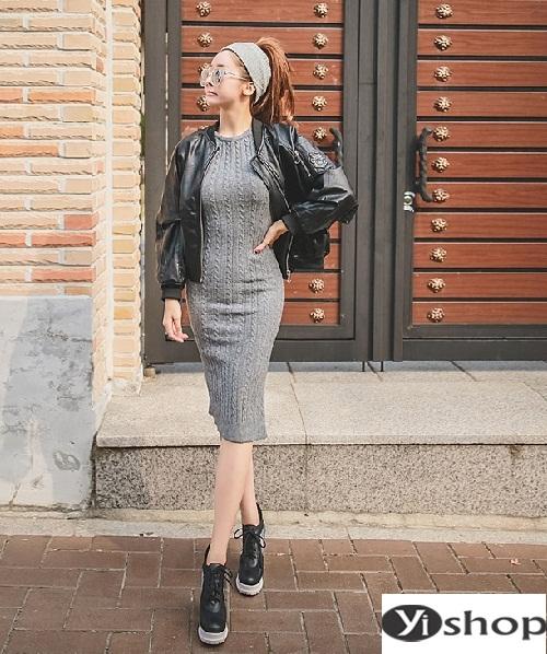 Gợi ý áo khoác da nữ đẹp hàn quốc lựa chọn tuyệt vời ngày gió đông 2021 - 2022 phần 1