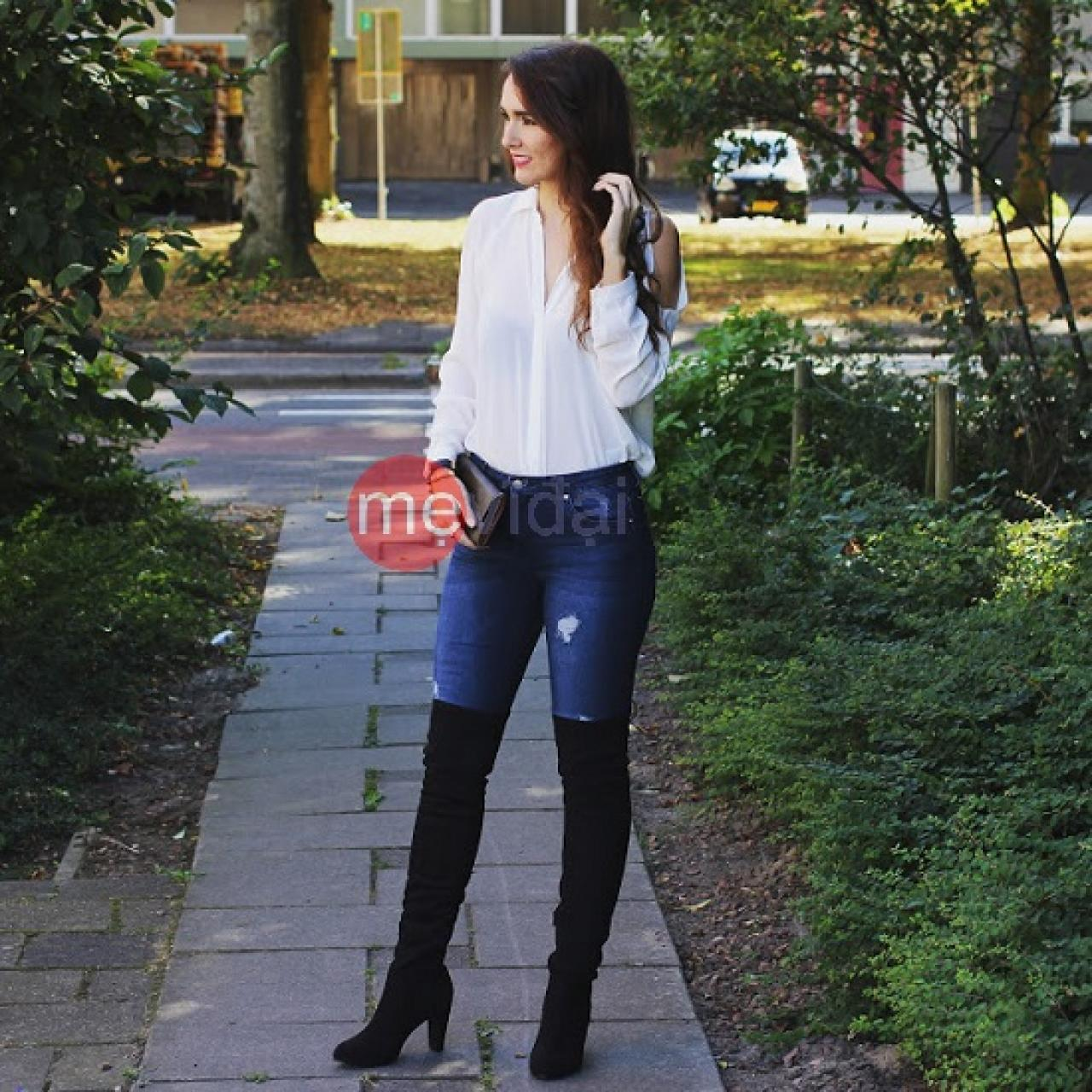 Gợi ý cho nàng cách phối giày và quần jean ăn ý