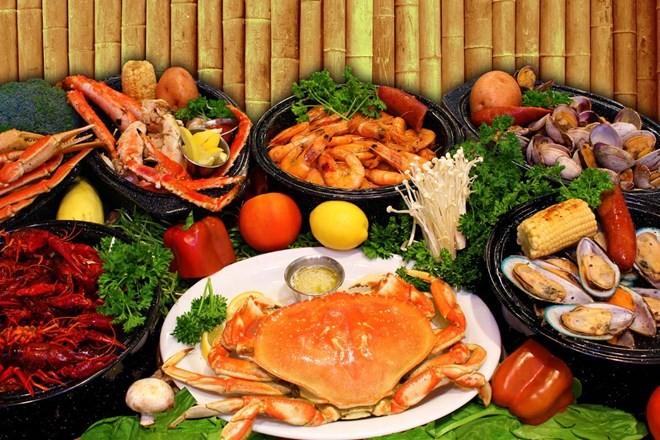 Hải sản chứa nhiều Canxi giúp ngăn ngừa còi xương, loãng xương