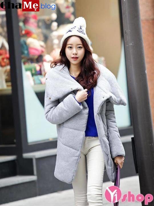 Hot áo khoác phao nữ sài gòn tphcm dáng dài đẹp gout thời trang cực tinh tế đông 2021 - 2022