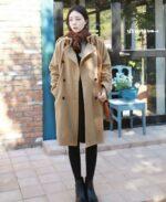 Kiểu áo khoác dạ nữ Hàn Quốc đẹp thu đông 2021 – 2022 được yêu thích nhất