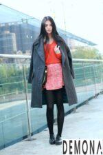 Kiểu áo khoác dạ nữ màu trung tính đẹp sành điệu đông 2021 – 2022