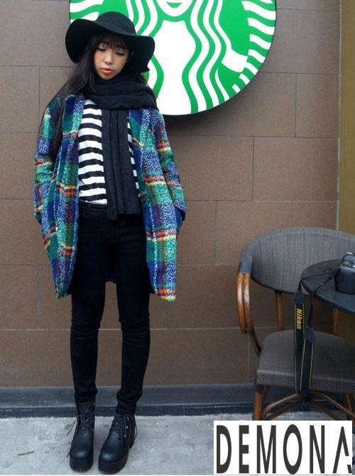Kiểu áo khoác dạ nữ màu trung tính đẹp sành điệu đông 2019 – 2021 phần 7