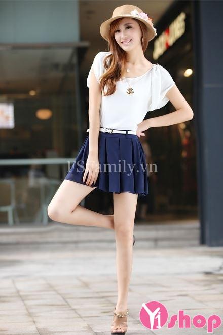 Kiểu chân váy đầm chữ A đẹp hè 2021 - 2022 cho nàng quyến rũ dạo phố
