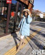 Loạt áo khoác phao nữ sài gòn tphcm có mũ đẹp kiểu hàn quốc hot nhất đông 2021 – 2022
