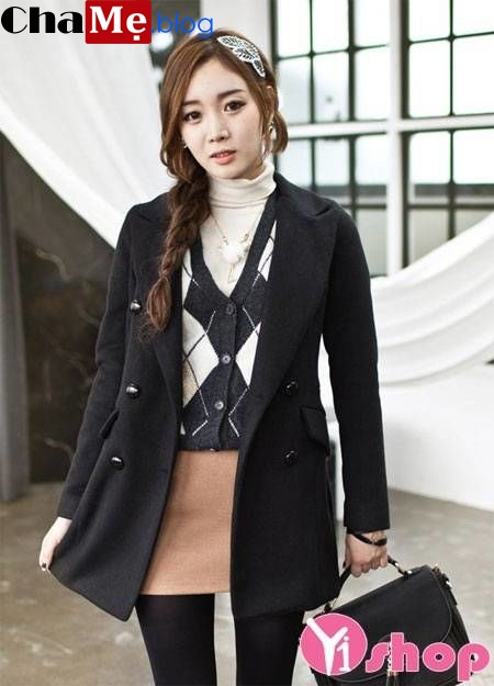 Lựa chọn áo khoác blazer nữ dáng dài đẹp hợp mọi hoàn cảnh đông 2021 - 2022